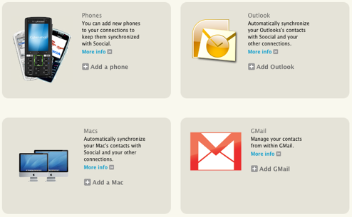 Soocial Syncs Gmail, Outlook, Your Cellphone, and More