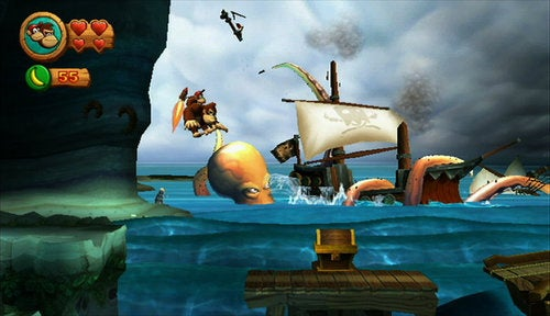 Donkey Kong Country Returns Screenshots