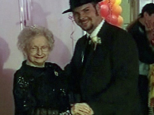 90-Year-Old Attends Her First Prom