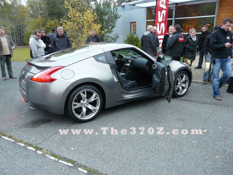 2009 Nissan 370Z Spotted Naked In Europe But Not On A Beach