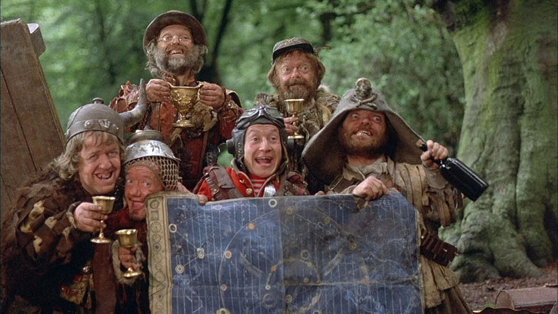 Time Bandits: A Classic Tale Of Time Travel, Tech, Good, and Evil