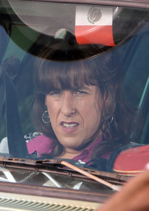 Adam Sandler In Drag Is Not A Pretty Sight