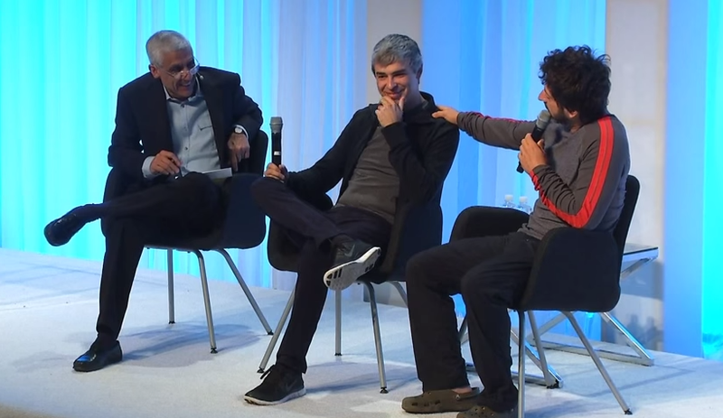 Larry Page Says When Machines Take Our Jobs, It'll Feel Like Vacation