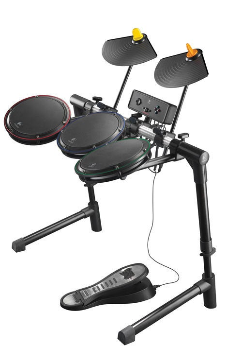 Logitech's New PS3 Drums: High Quality, High Price