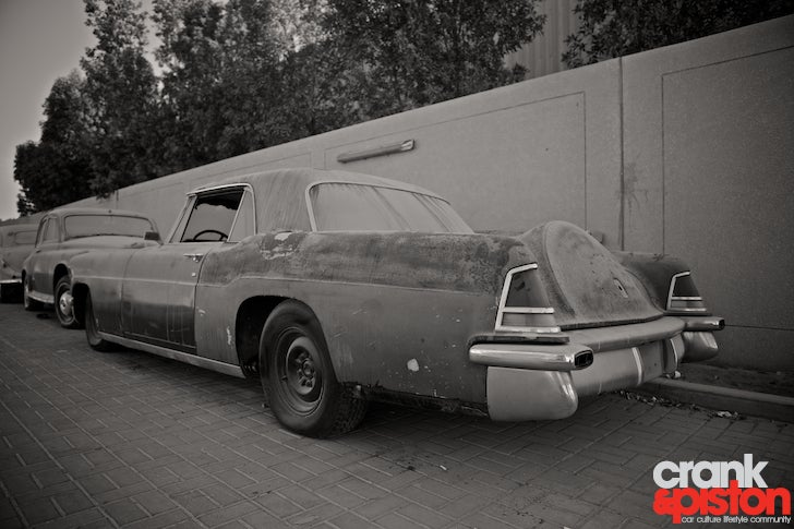 Hidden classic cars wait for surgery in Dubai