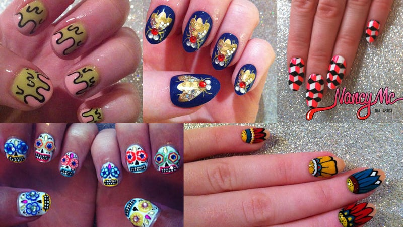 The Best Nail Art of 2012