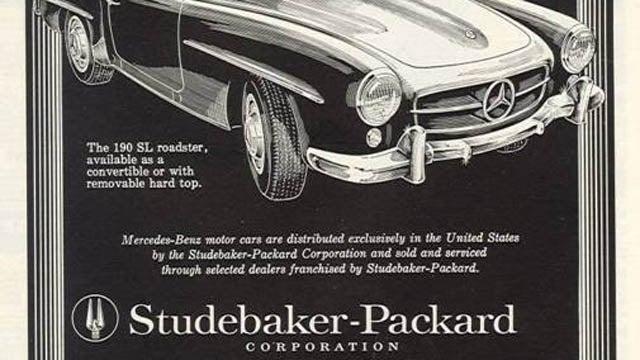 A Studebaker 300SL?