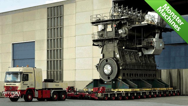 The World's Most Gargantuan Diesel Engine