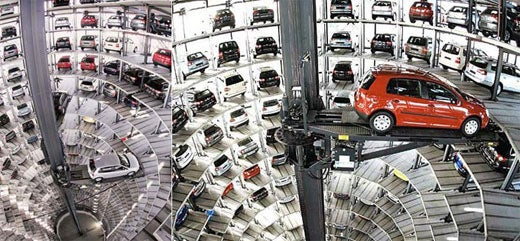 VW's Automated Parking Garage