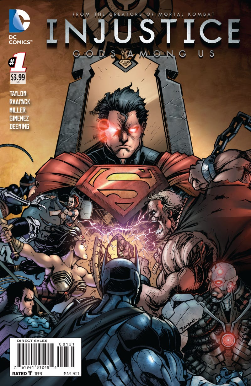 The Injustice Comic Prequel Explains Why Superman and Batman Are Fighting (Again)