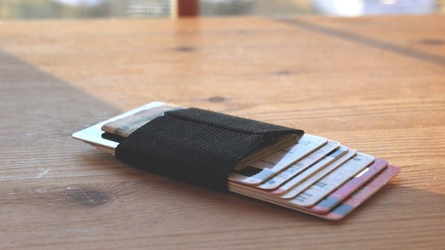 Make A Simple, Expanding Money Clip from a Strip of Elastic