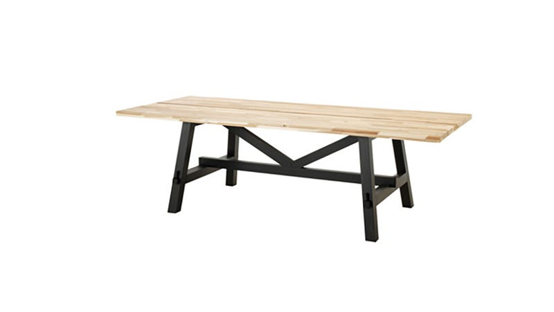 IKEAu0027s New Solid Wood Furniture Is Beautifully Cheap