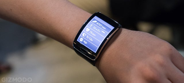 Samsung Gear S Hands On: A Tiny Phone That's Still Big on Your Wrist