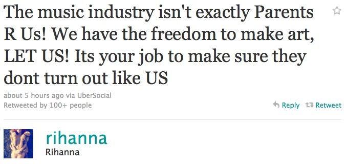 "Rihanna Responds To Critics Of Her ""Man Down"" Video"
