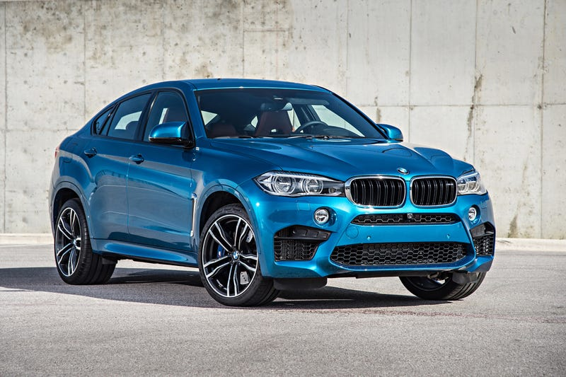 2015 Bmw X6 M Blue 200 Interior And Exterior Images