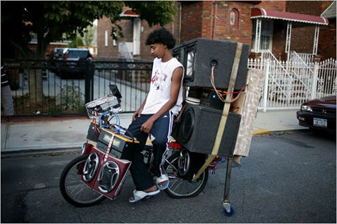 Bicycles With Mega Soundsystems Need Mega Bikelocks