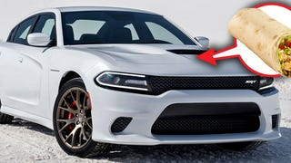 Yes, You Can Cook A Frozen Burrito On The Charger Hellcat's Supercharger