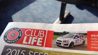 Look what's in the SCCA magazine...