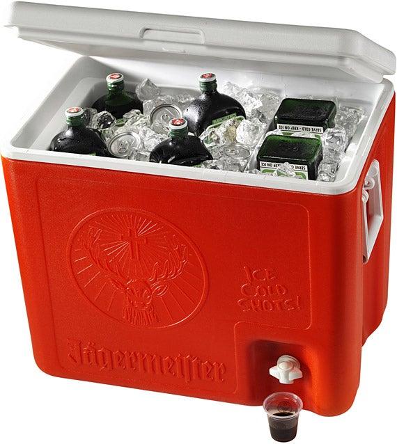 Bad Decisions: Jägermeister 6-Bottle Shot Cooler