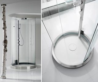 Motion-Sensing Transtube 360 Shower Puts You On Display