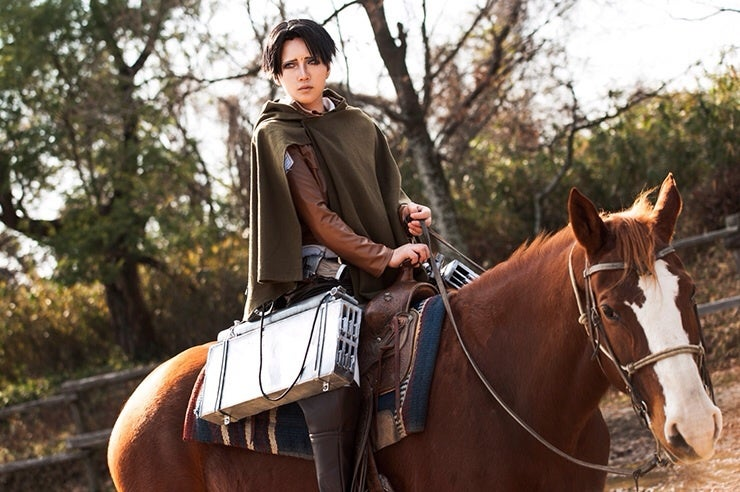 Cheer Up, Levi, Your Cosplay Is Terrific