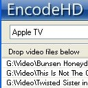 EncodeHD Offers One Click Conversion for Popular Portable Devices