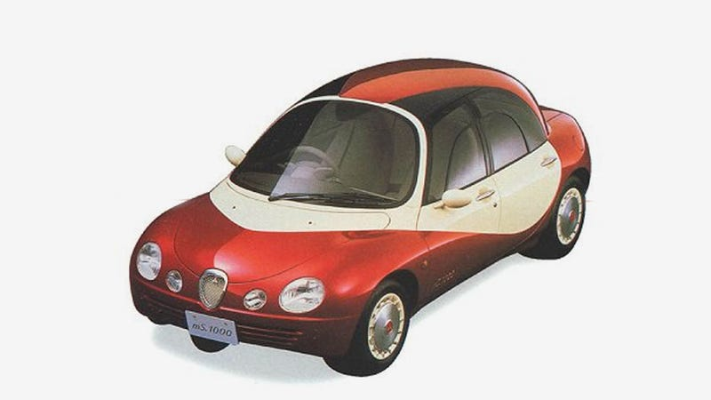 Mitsubishi's 1991 Concept Car Will Make You Wish You Were A Cartoon