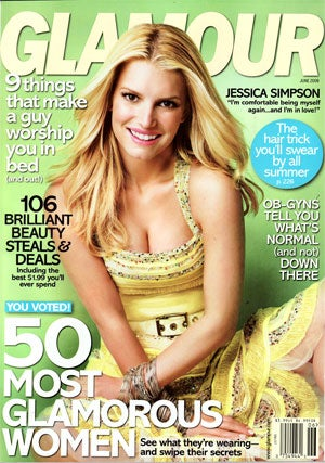 "Jessica Simpson In Glamour: Did She Jinx It With Tony Romo, Or Was She Just Being ""Honest""?"