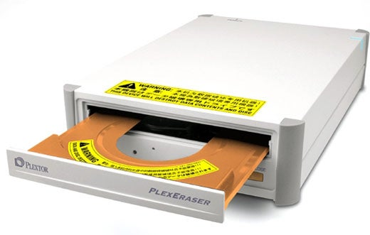Plexeraser - Erasing Your DVDs and CDs in Six Minutes