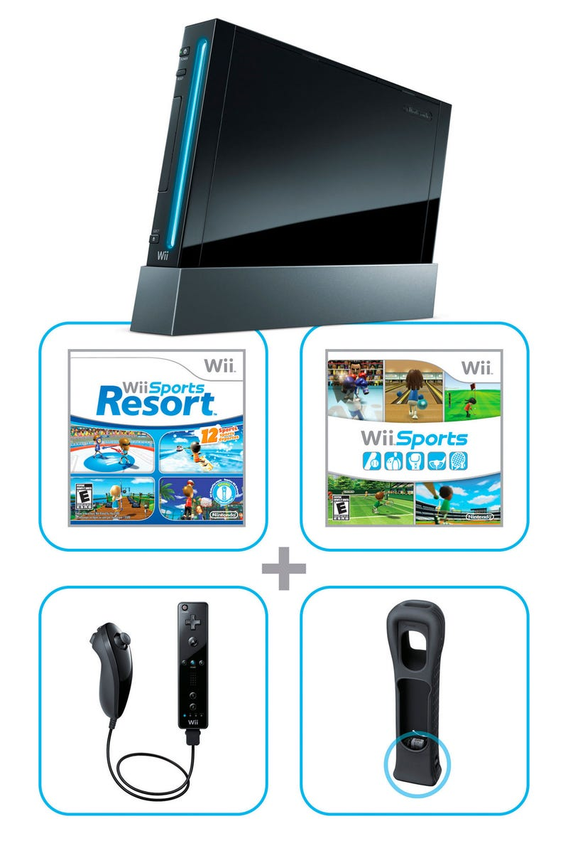 Black Wii Will Cost $200, Include Both Wii Sports Games
