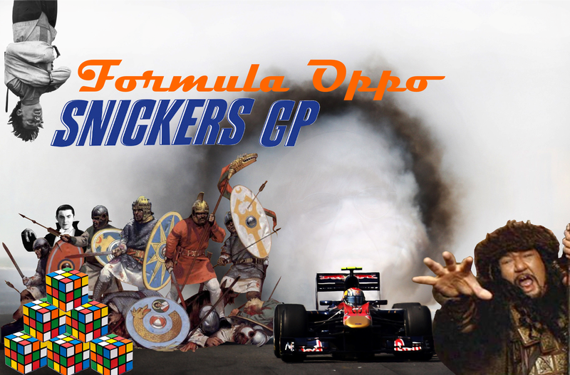 Formula Oppo: The Snikers Grand Prix of The Hungry, Hungry Hippos
