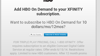 Here's the Cheapest Way To Add HBO Go To Your Comcast Int