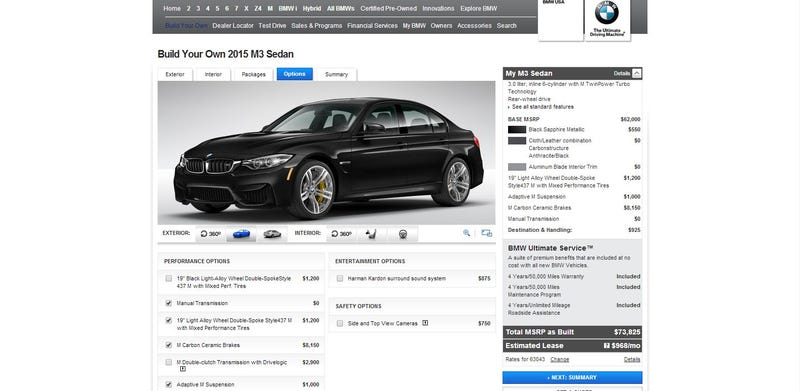 Online Car Configurators