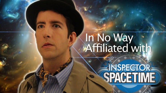NBC tries to kill Inspector Spacetime, but he regenerates instead