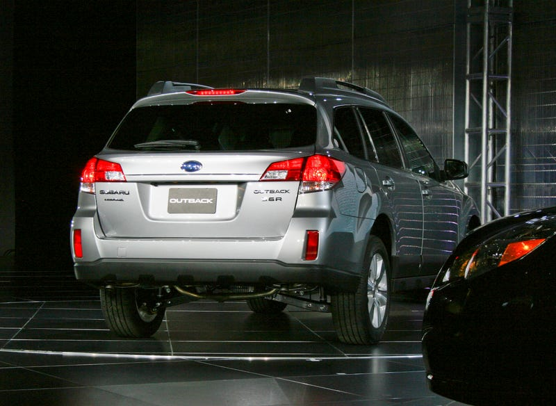 2010 Subaru Outback: The Butch Is Back