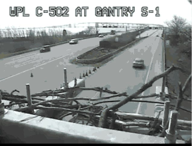 Heroic Ospreys Will Not Stop Building Nests on This Traffic Camera