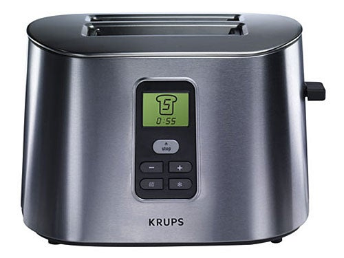 LCD Display Krups Toaster is Sleek and Makes Toast