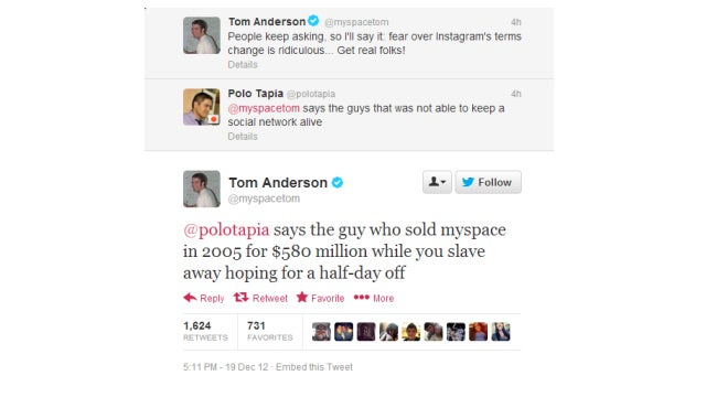 MySpace Tom Is a Prick