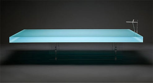 Freshwest Takes the Concept of a Pool Table Literally