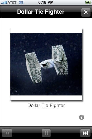 Dollar Origami iPhone App Instructs How to Properly Fold a Bill