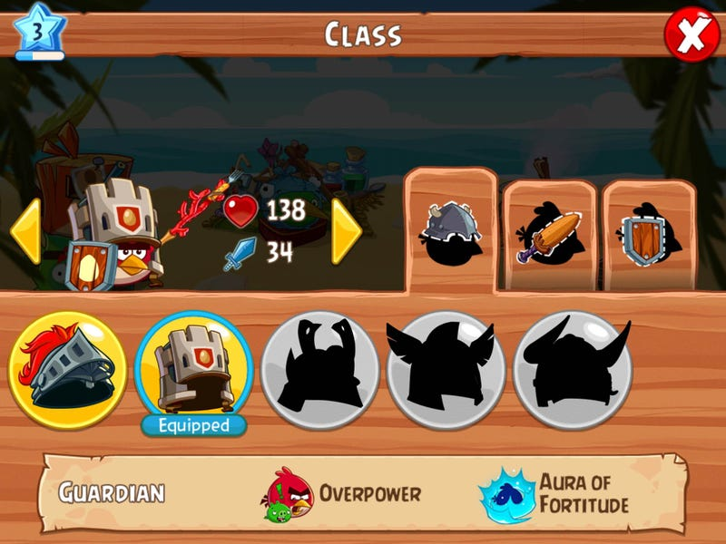 How The Turn-Based Angry Birds RPG Works