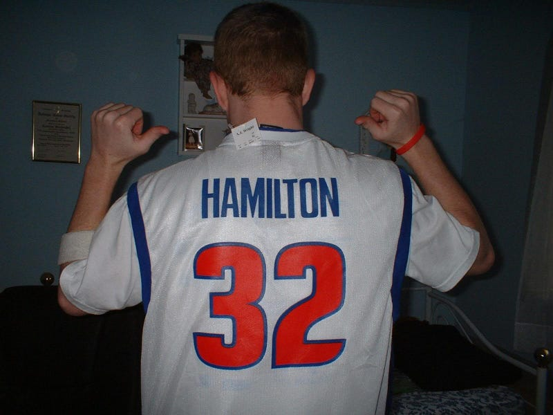 Rip Hamilton Yelled At Coach John Kuester So Hard The Younger Pistons Were Mortified