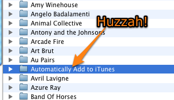 iTunes Finally Adds Watched Folder to Automatically Add New Music