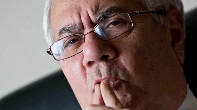 Barney Frank Was Never Sorry for Threatening to Blow Up Your Car
