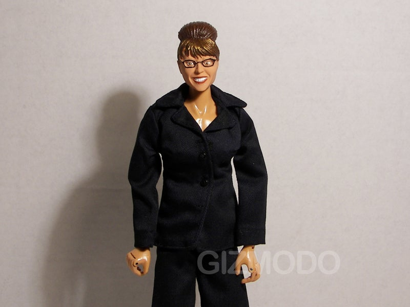 Sarah Palin Action Figure Can Kick Barbie's Ass