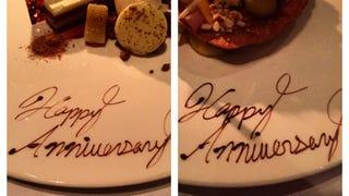 $400 Anniversary Dinner