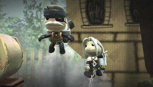 Old Snake, Sephiroth Get Sackboyed For LittleBigPlanet