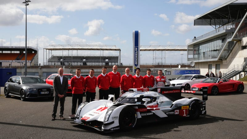 The Audi R18 e-tron On Public Roads Is A Future We Can Embrace