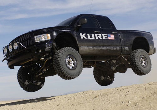 Mopar Planning Ram Tough Raptor-Fighting Concept