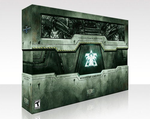 Witness The Wild StarCraft II Collector's Edition